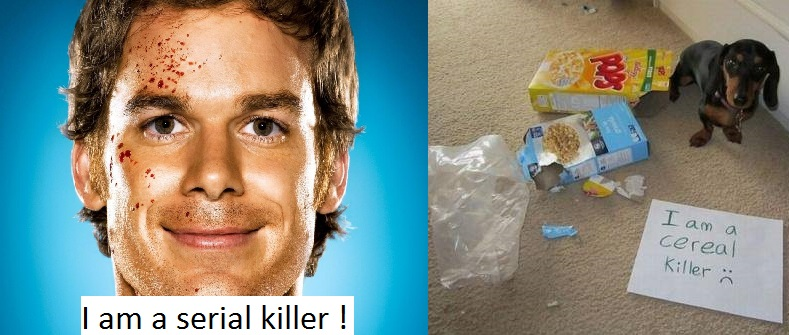 I am a Serial killer...