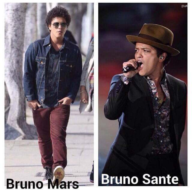 Bruno Mars, Bruno Sante
