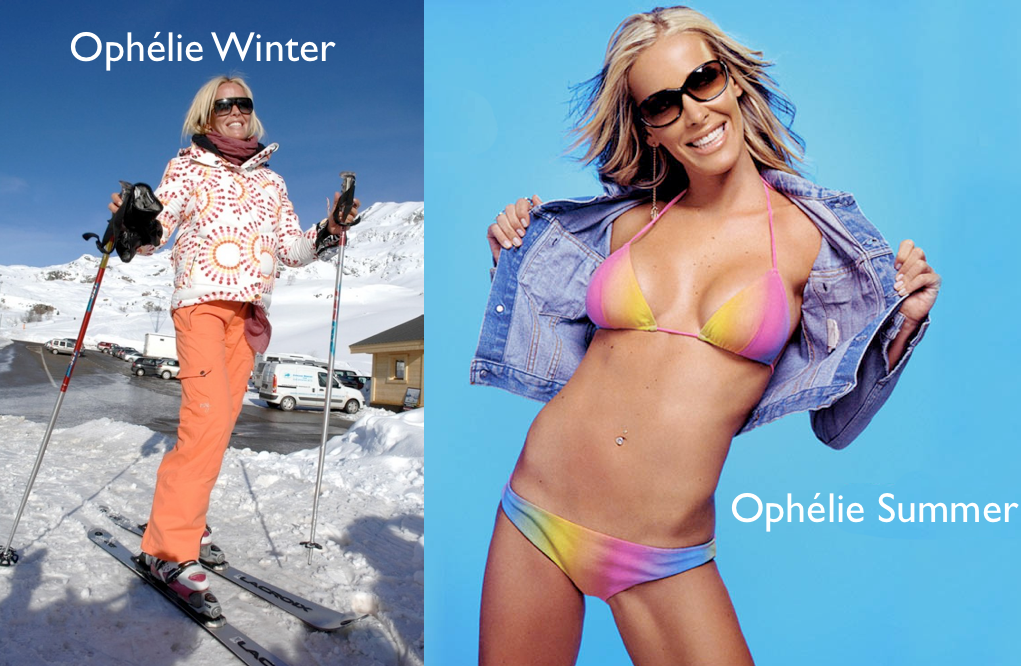 Ophélie Winter, Ophélie Summer
