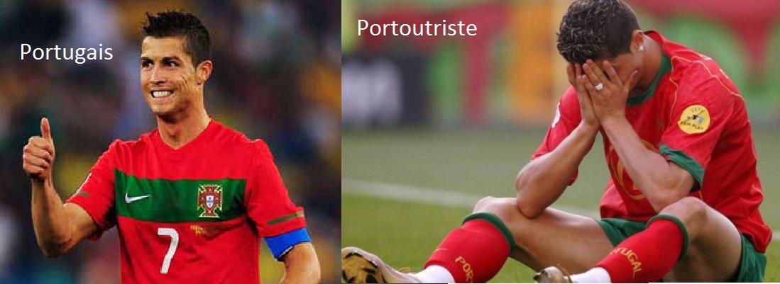 Portugais, Portoutriste