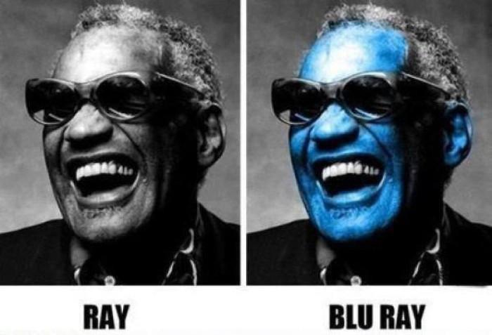 Ray, blue ray