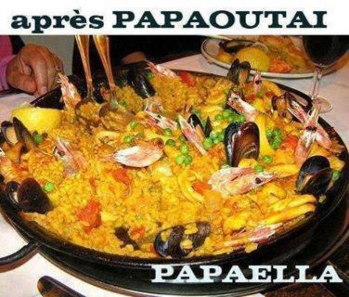 Papaoutai, papaella