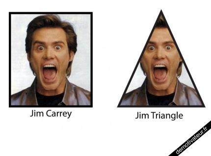 Jim Carrey, Jim Triangle