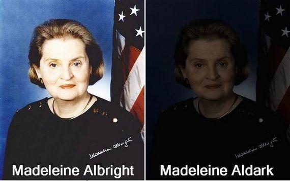 Madelaine Albright, Madelaine Aldark