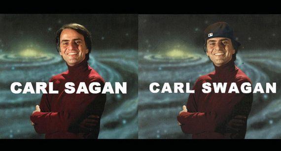 Carl Sagan, Carl Swagan