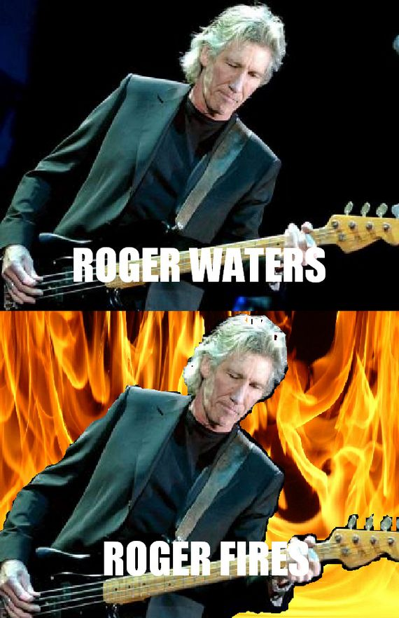 Roger Waters, Roger Fires