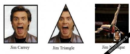 Jim Carrey, Jim triangle, Jim Nastique