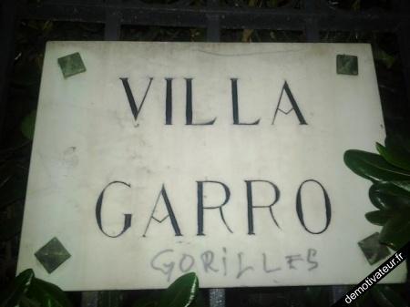 Villa Garro Gorilles