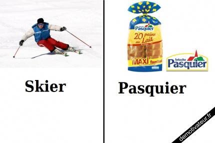 Skier, Pasquier