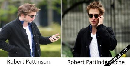 Robert Pattinson, Robert Pattindécroche