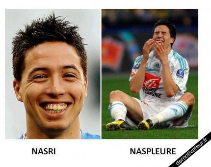 Nasri, Naspleure